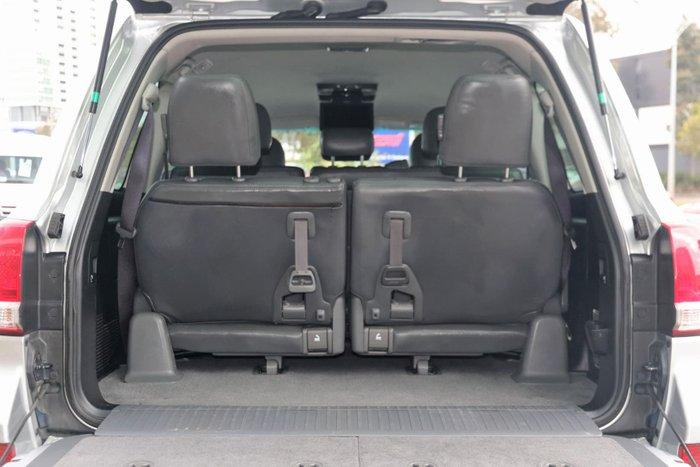 2009 Toyota Landcruiser GXL UZJ200R 4X4 Constant Silver