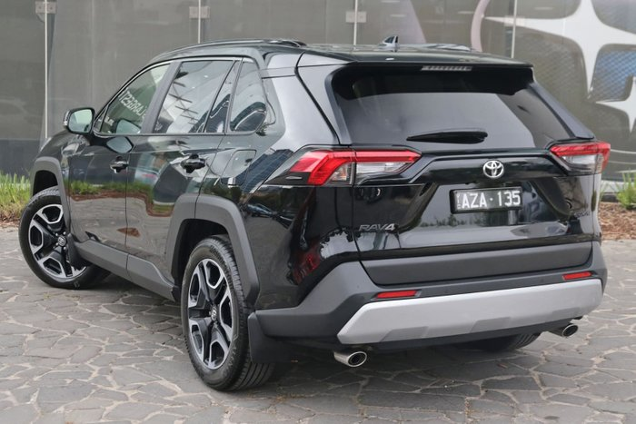 2019 Toyota RAV4 Edge AXAA54R 4X4 On Demand Black