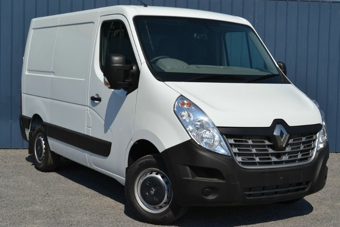 2017 RENAULT MASTER LOW ROOF SHORT WHEEL X62 WHITE