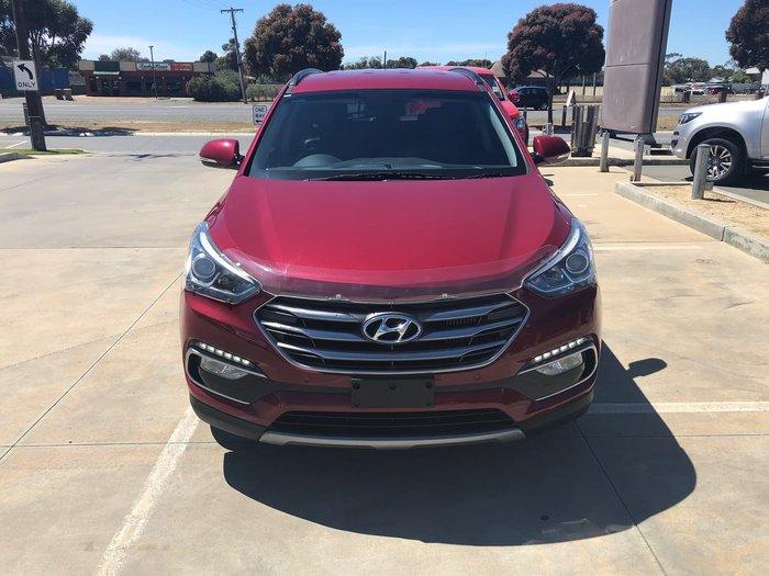 2015 Hyundai Santa Fe Elite DM3 Series II MY16 4X4 On Demand Red