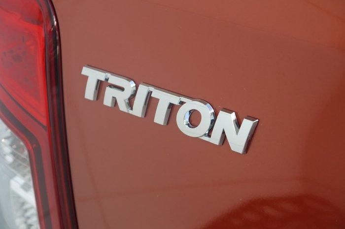 2019 Mitsubishi Triton Toby Price Edition MR MY20 4X4 Dual Range Orange