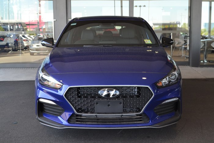 2019 Hyundai i30 N Line PD.3 MY19 Blue
