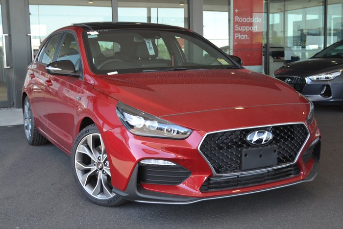 2019 Hyundai i30 N Line Premium PD.3 MY19 Red