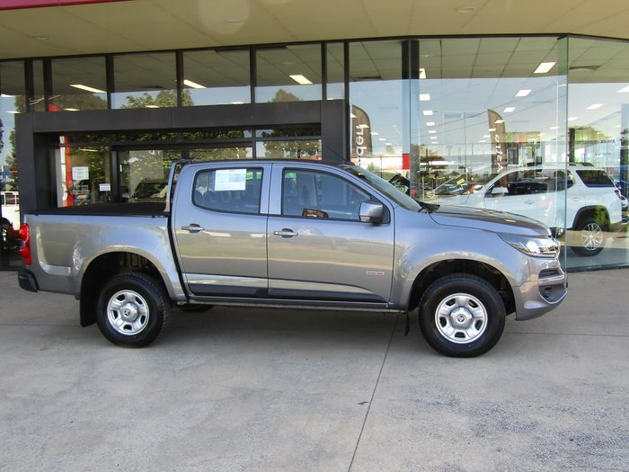2017 Holden Colorado LS RG MY17 Grey