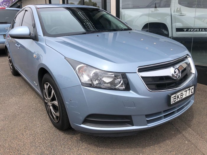 2009 Holden Cruze CD JG Blue