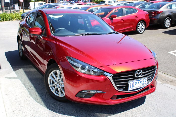 2018 Mazda 3 Maxx Sport BN Series Red