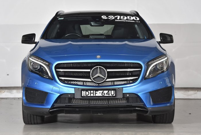 2015 Mercedes-Benz GLA-Class GLA250 X156 Four Wheel Drive Blue