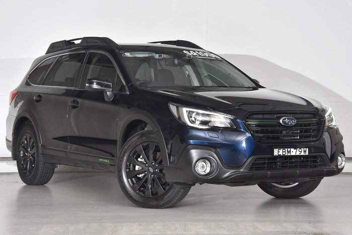 2019 Subaru Outback 2.5i-X 5GEN MY19 Four Wheel Drive Blue