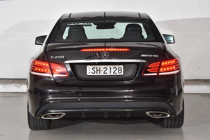 2014 Mercedes-Benz E-Class E250 C207 MY15 Black