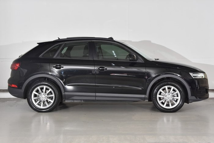 2015 Audi Q3 TDI 8U MY14 Four Wheel Drive Black