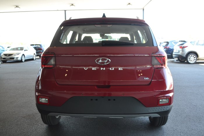2019 Hyundai Venue Active QX MY20 Red