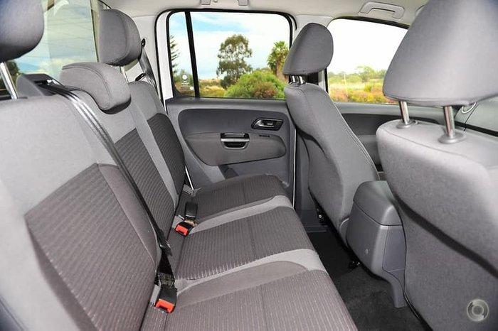 2012 Volkswagen Amarok TDI420 Highline 2H MY12.5 4X4 Constant White