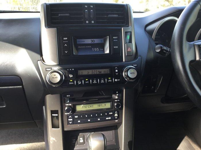 2012 Toyota Landcruiser Prado GXL KDJ150R 4X4 Constant Maroon