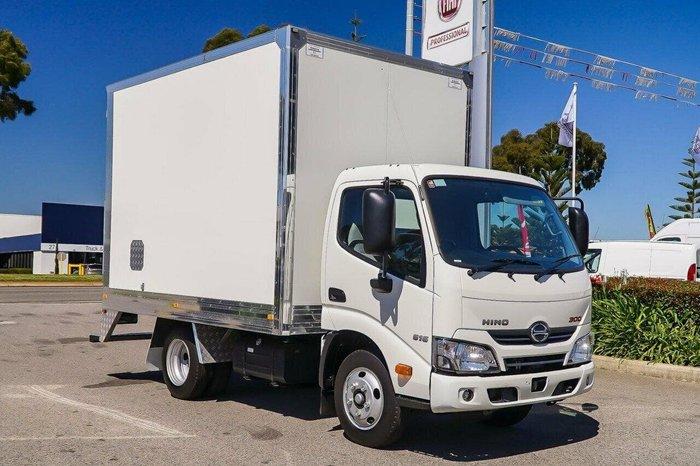 2019 HINO 300 XZU605R616 IFS AUTO SWB null null White