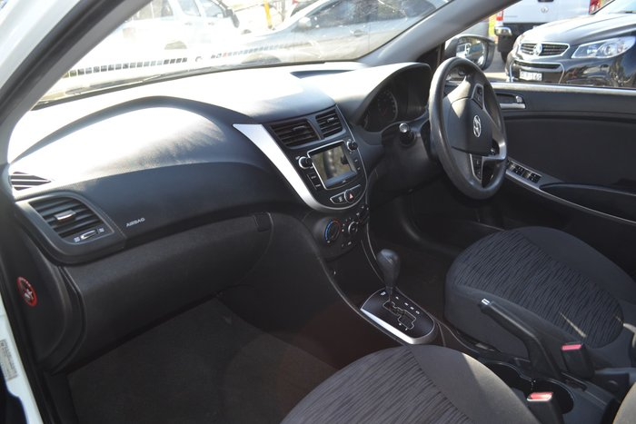 2016 Hyundai Accent Active RB3 MY16 White