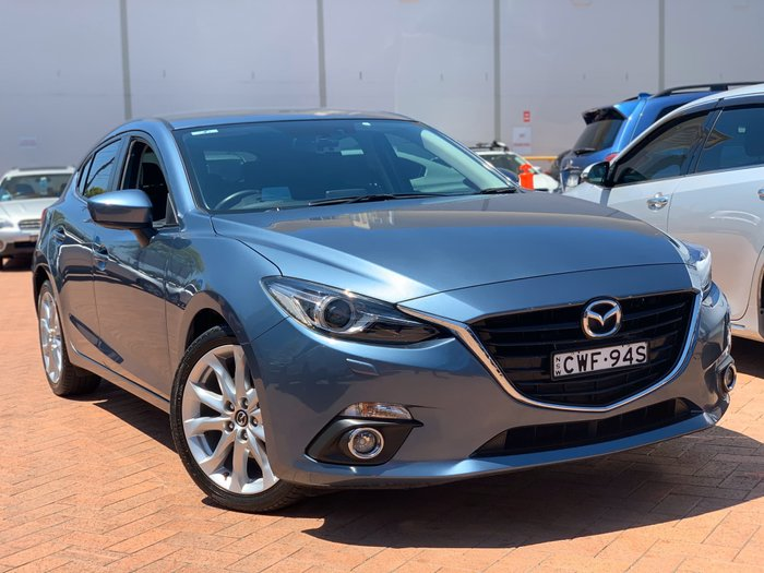 2014 Mazda 3 SP25 GT BM Series Blue