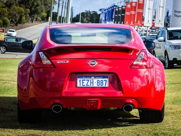 2015 Nissan 370Z Z34 MY15 Red
