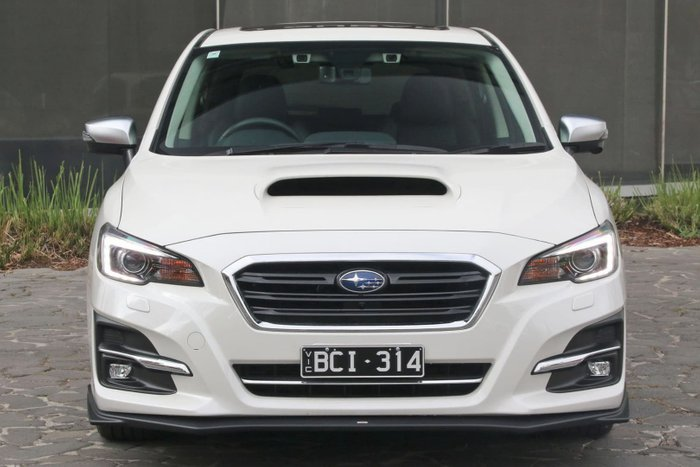 2019 Subaru Levorg 2.0 GT-S V1 MY19 Four Wheel Drive White
