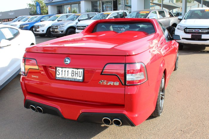 2015 Holden Special Vehicles Maloo R8 GEN-F MY15 Red