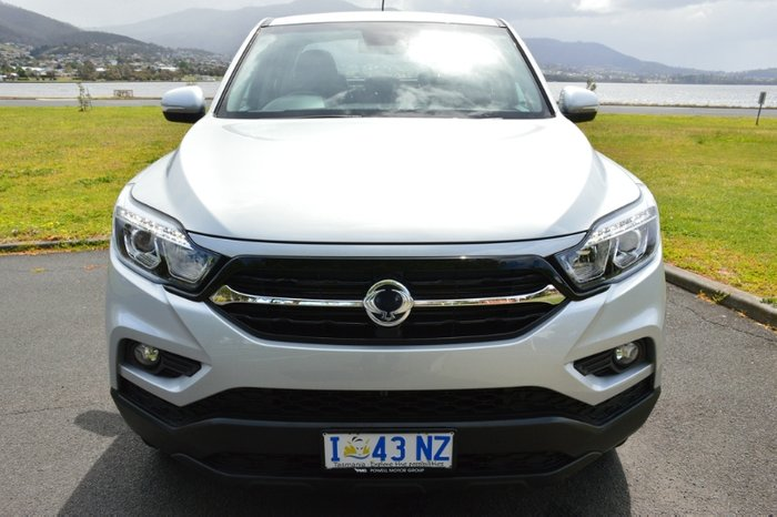 2019 SsangYong Musso ELX Q201 MY19 4X4 Dual Range SILVER