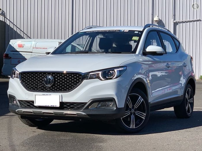 2019 MG ZS Excite AZS1 MY19 White