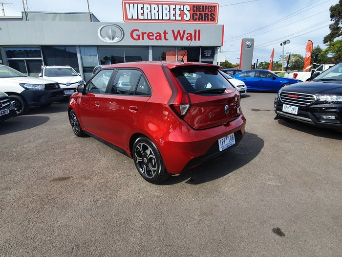 2018 MG MG3 Excite MY18 Red