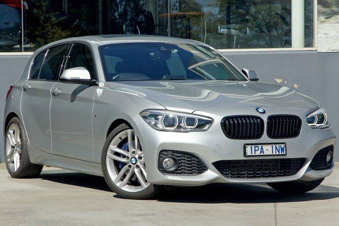 2015 BMW 1 Series 125i M Sport F20 MY15 Silver