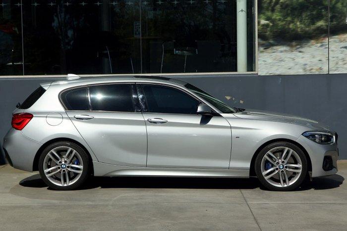 2015 BMW 1 Series 125i Sport Line F20 MY15 Silver