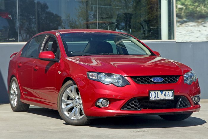 2010 Ford Falcon XR6 Turbo FG Red