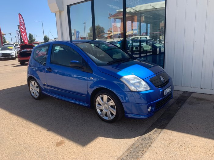 2007 Citroen C2 VTR MY06 Blue