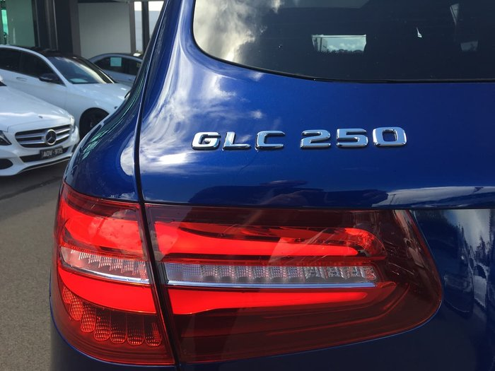 2019 Mercedes-Benz GLC-Class GLC250 X253 Four Wheel Drive Blue