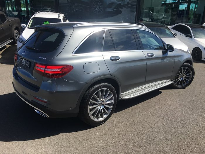 2017 Mercedes-Benz GLC-Class GLC250 d X253 Four Wheel Drive Grey