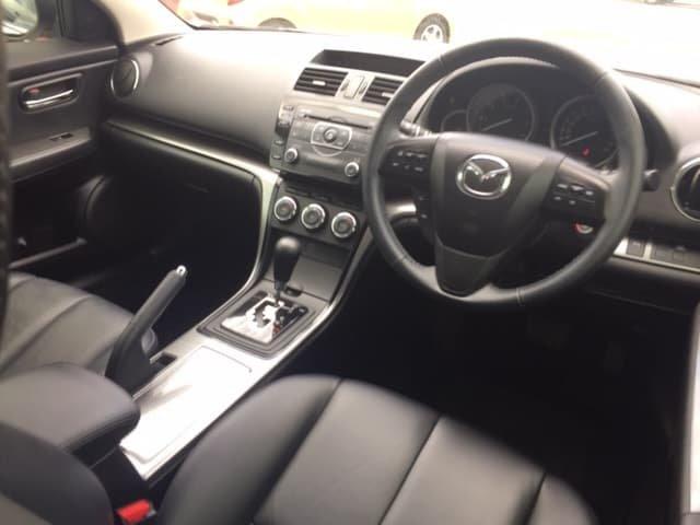 2012 Mazda 6 Touring GH Series 2 MY12 White