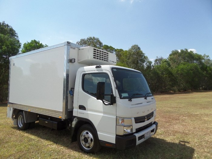 2017 Fuso Canter 515 Wide White