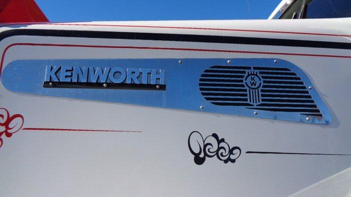 2013 Kenworth T909 WHITE