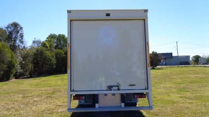 2012 Fuso Canter 815 Wide White