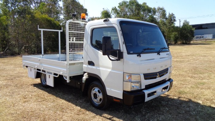 2013 Fuso Canter 515 Wide White
