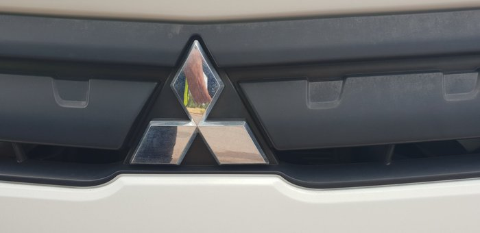 2011 Fuso Canter 918 Wide WHITE