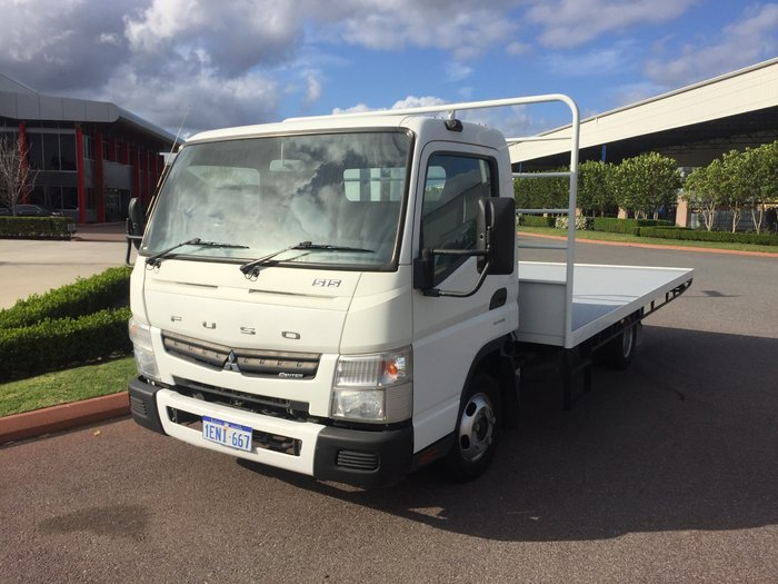 2014 Fuso Canter 515 Wide WHITE