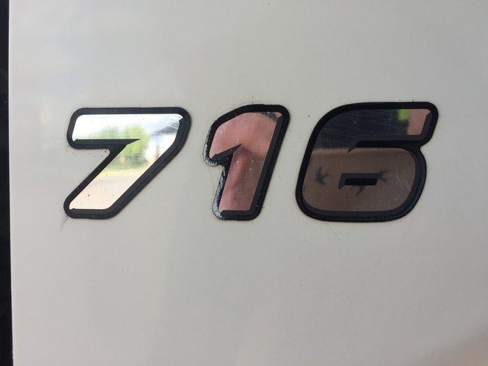 2011 Hino 716 - 300 Series WHITE