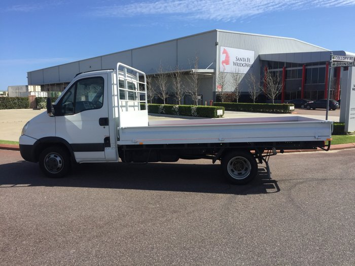 2010 Iveco Daily 50C 17/18 TRAYTOP WHITE