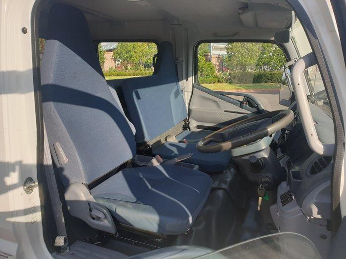 2011 Fuso Canter 918 Dual Cab WHITE