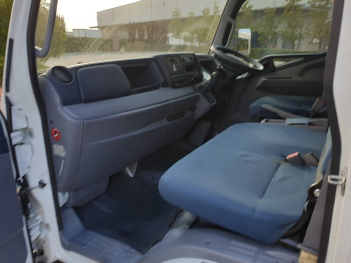 2012 Fuso Canter 815 Wide MWB CAB CHASSIS TIPPER WHITE