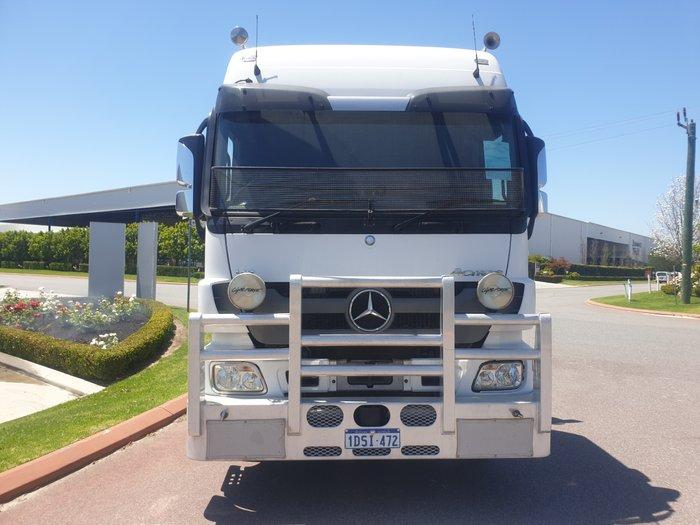 2011 Mercedes Benz Actros 3260 ACTROS 3260 WHITE