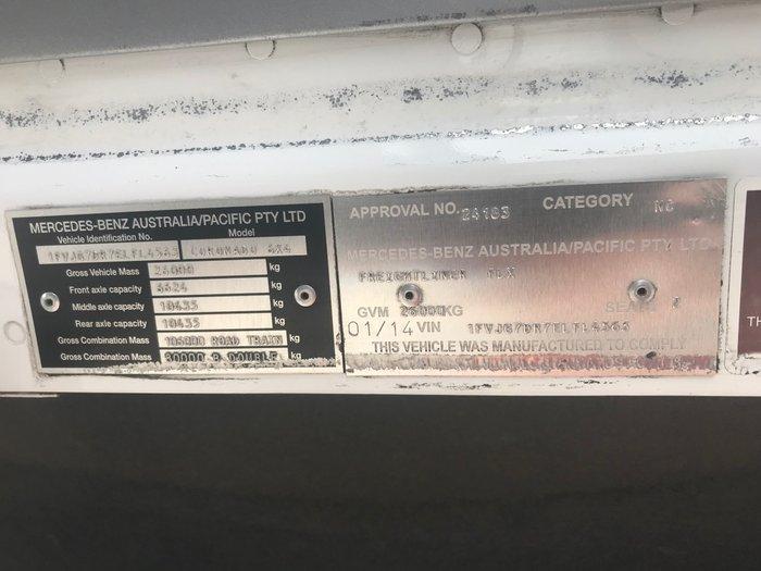 2014 Freightliner Coronado 114 - 34quot MID ROOF SLEEPER CAB WHITE