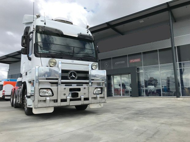 2014 Mercedes Benz 2660 Actros 6X4 PRIME MOVER WHITE