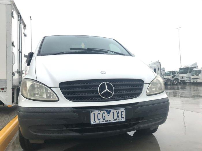 2008 Mercedes Benz Vito 111 CDI USED VITO 111 SWB ARCTIC WHITE