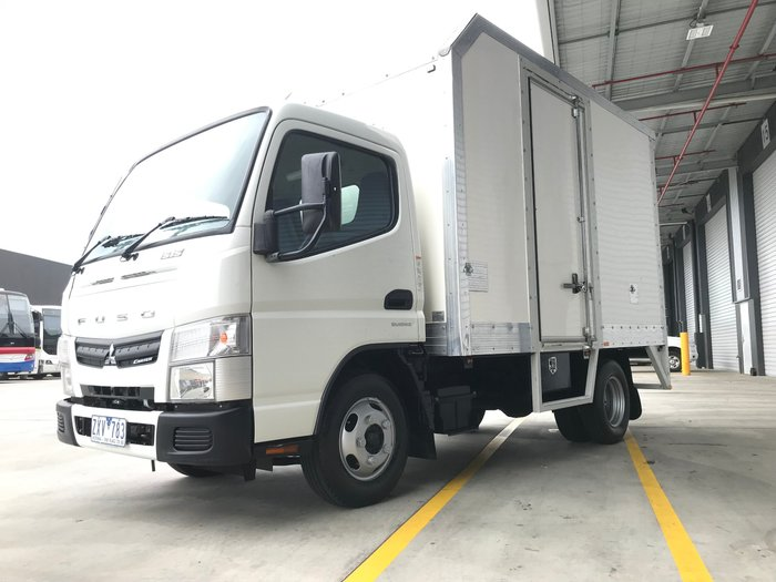 2014 Fuso Canter 515 NARROW A/T - PAN + SIDE DOOR WHITE