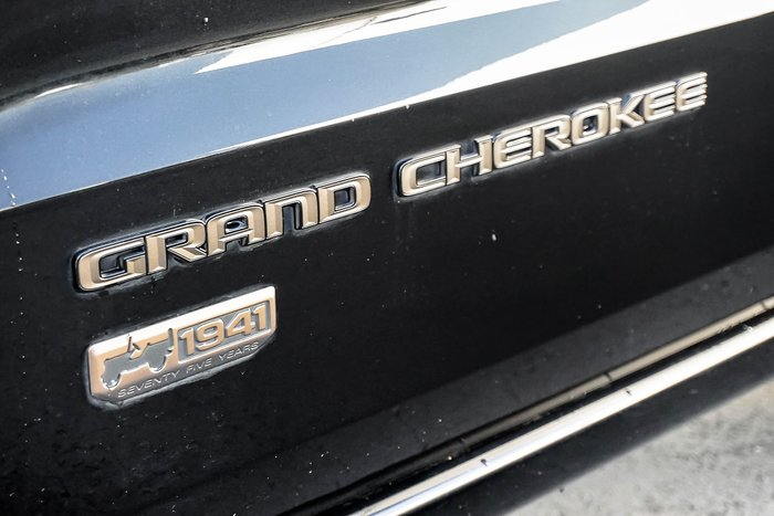 2016 Jeep Grand Cherokee 75th Anniversary WK MY16 4X4 Dual Range Black