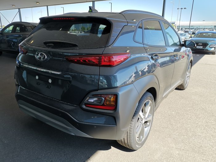 2019 Hyundai Kona Highlander OS.3 MY20 4X4 On Demand Grey